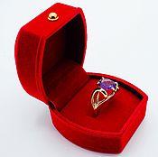 Кольца ручной работы. Ярмарка Мастеров - ручная работа Бразильская самба золотое кольцо. Handmade.