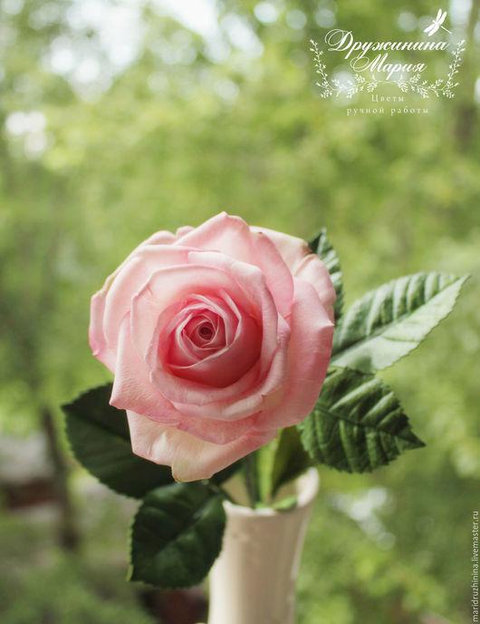 Цветы ручной работы. Ярмарка Мастеров - ручная работа. Купить Роза из фоамирана.. Handmade. Розы из фоамирана, букет на свадьбу, классика
