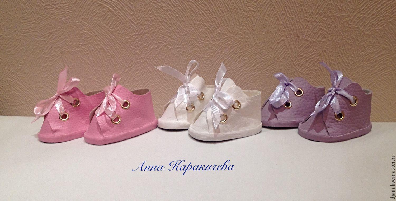 Обувь для интерьерных кукол своими руками