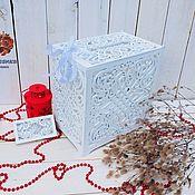 Свадебный салон handmade. Livemaster - original item Envelope box Wedding Treasury. Handmade.