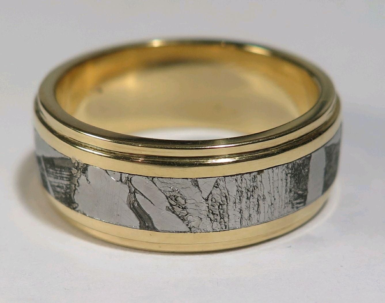 Кольцо из метеорита Сеймчан (Россия) – купить в интернет-магазине на ... e5139ac68f1