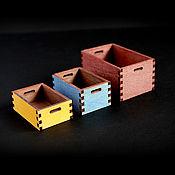Куклы и игрушки handmade. Livemaster - original item Storage box. For 1:6 (YoSD), 1:4 (MSD), 1:3 (SD) dolls). Handmade.