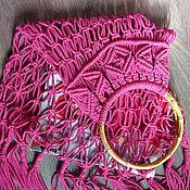 Сумки и аксессуары handmade. Livemaster - original item Bag-string bag. Handmade.