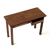 Куклы и игрушки handmade. Livemaster - original item Doll table with drawers 1:6 (YoSD). Handmade.