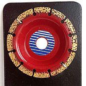 Материалы для творчества ручной работы. Ярмарка Мастеров - ручная работа Обдирочный диск средний. Handmade.