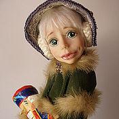 """Куклы и игрушки ручной работы. Ярмарка Мастеров - ручная работа Авторская Кукла Маша из сказки """"Щелкунчик"""" из полимерной глины. Handmade."""