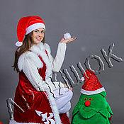 Одежда ручной работы. Ярмарка Мастеров - ручная работа Костюм Помощника Деда Мороза. Handmade.