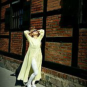 Одежда handmade. Livemaster - original item Lemon flying shirt dress. Handmade.