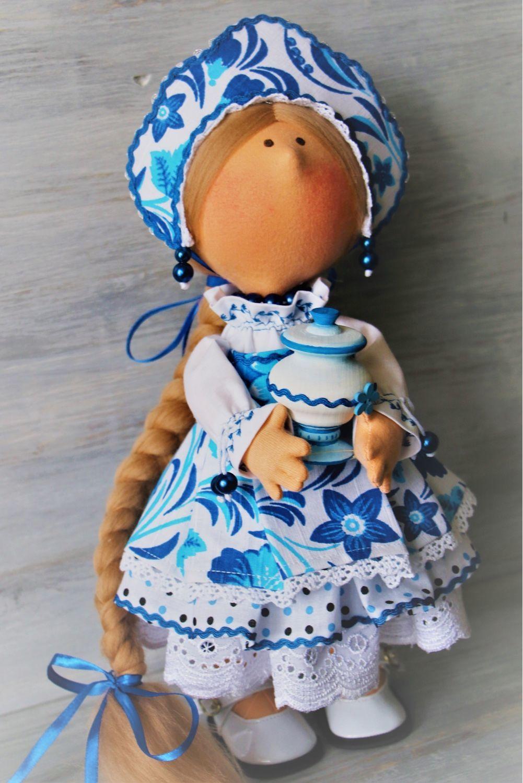 Куклы гжель картинки
