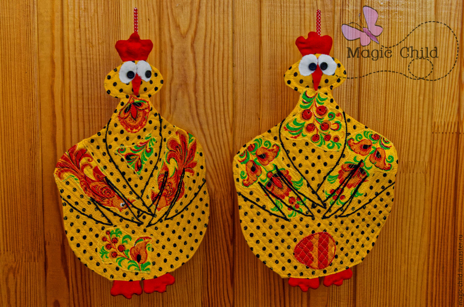 Rooster's year: KEEP YOUR FINGERS CROSSED, Interior elements, Chelyabinsk,  Фото №1