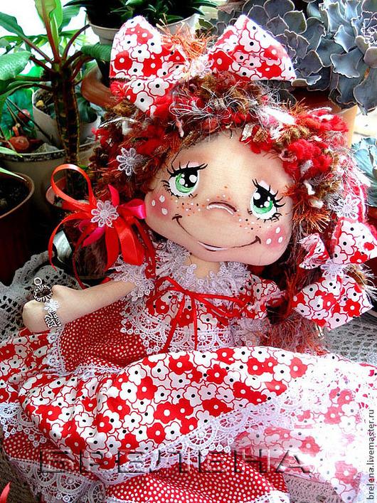 Сказочные персонажи ручной работы. Ярмарка Мастеров - ручная работа. Купить Кукла текстильная Маленькая Волшебница Розовой страны. Handmade.