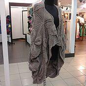 Одежда ручной работы. Ярмарка Мастеров - ручная работа вязаный кардиган бохо листочки. Handmade.