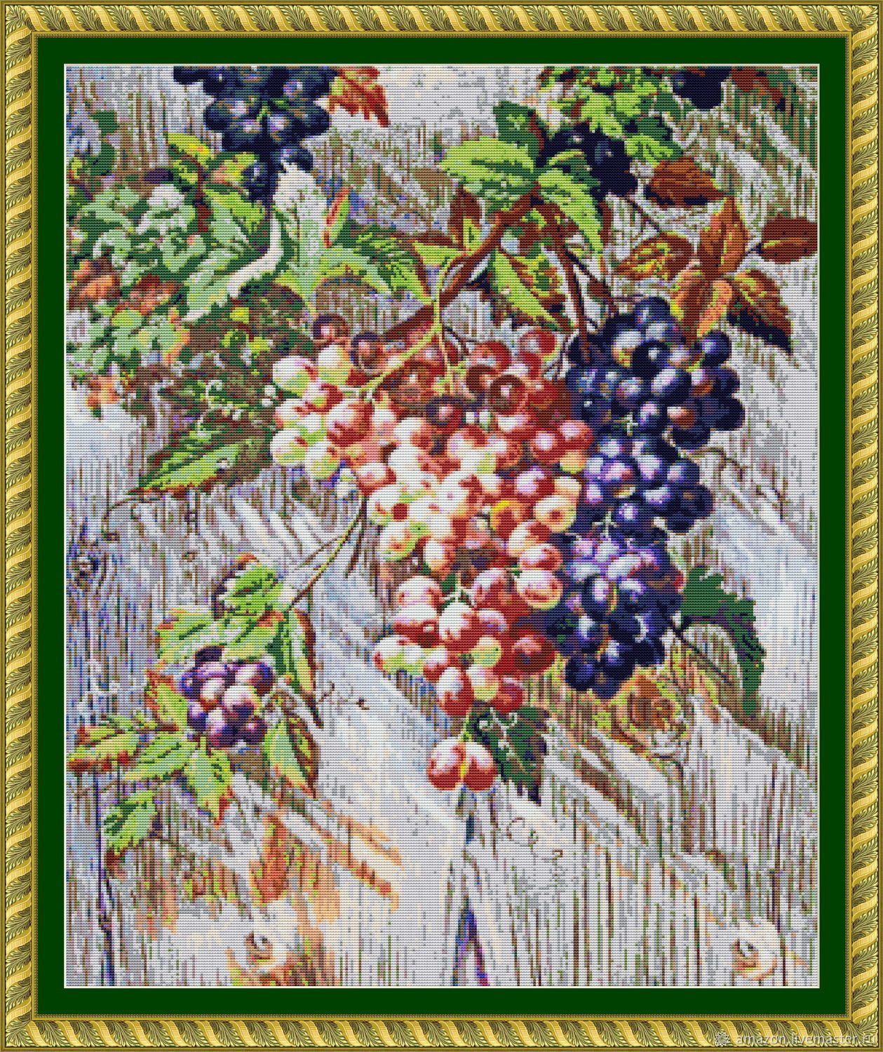 Set for embroidery with beads ' Grapes', Embroidery kits, Ufa,  Фото №1