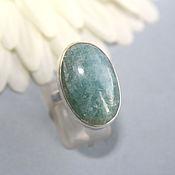 Rings handmade. Livemaster - original item ring with Apatite. Silver. Handmade.