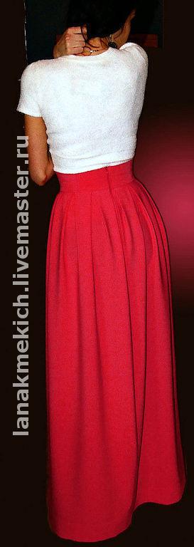 """Юбки ручной работы. Ярмарка Мастеров - ручная работа. Купить юбка """"Факел"""". Handmade. Юбка, юбка длинная, юбка из хлопка"""