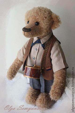 Мишки Тедди ручной работы. Ярмарка Мастеров - ручная работа. Купить мишки Тедди ручной работы. Гилмор. Handmade.