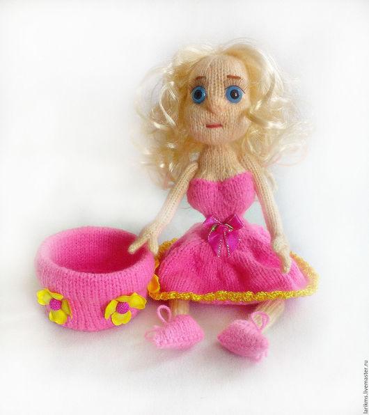 Человечки ручной работы. Ярмарка Мастеров - ручная работа. Купить Кукла вязаная Феня. Handmade. Комбинированный, куколка в подарок, человечки
