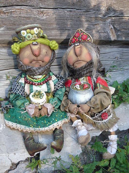 Коллекционные куклы ручной работы. Ярмарка Мастеров - ручная работа. Купить Супчик для Ванюши.... Handmade. Примитив, баба яга