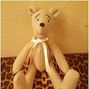 Куклы и игрушки ручной работы. Ярмарка Мастеров - ручная работа авторский медведь. Мишка малышка (или малыш?). Handmade.