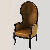 Кресла ручной работы. Ярмарка Мастеров - ручная работа Кресло с капюшоном из бука (№045). Handmade.