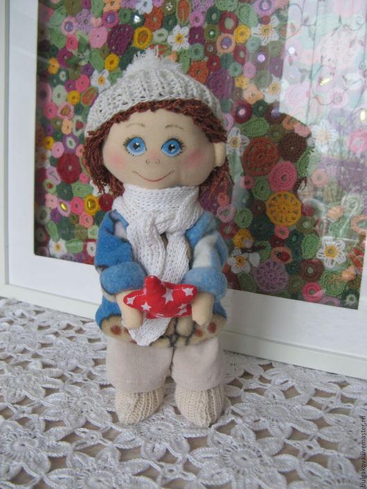Коллекционные куклы ручной работы. Ярмарка Мастеров - ручная работа. Купить Машенька. Handmade. Комбинированный, кукла интерьерная, пряжа хлопок