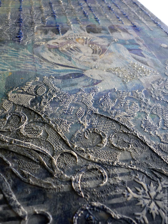 Панно Холодная душа в холодной красоте, Картины, Москва,  Фото №1