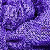 Материалы для творчества ручной работы. Ярмарка Мастеров - ручная работа Фатин стрейч, фиолетовый (violet) LCR-332. Handmade.