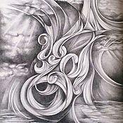 """Картины и панно ручной работы. Ярмарка Мастеров - ручная работа картина """"Вечный Ветер"""". Handmade."""