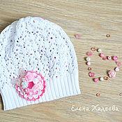 Работы для детей, ручной работы. Ярмарка Мастеров - ручная работа Летняя ажурная шапочка. Handmade.