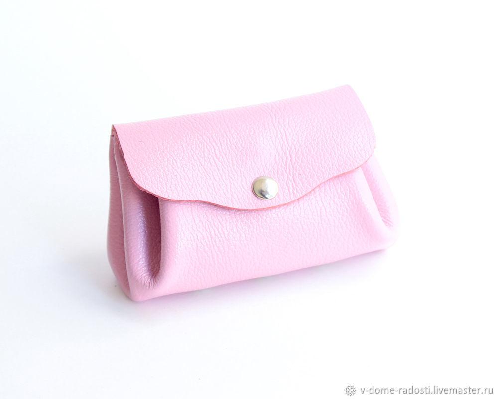 Купить подарок подруге, подарок маме сестре коллеге, что подарить женщине, хороший красивый подарок,  купить кожаный кошелек, розовый кошелек, что подарить девушке, подарок женский, подарок Новый год