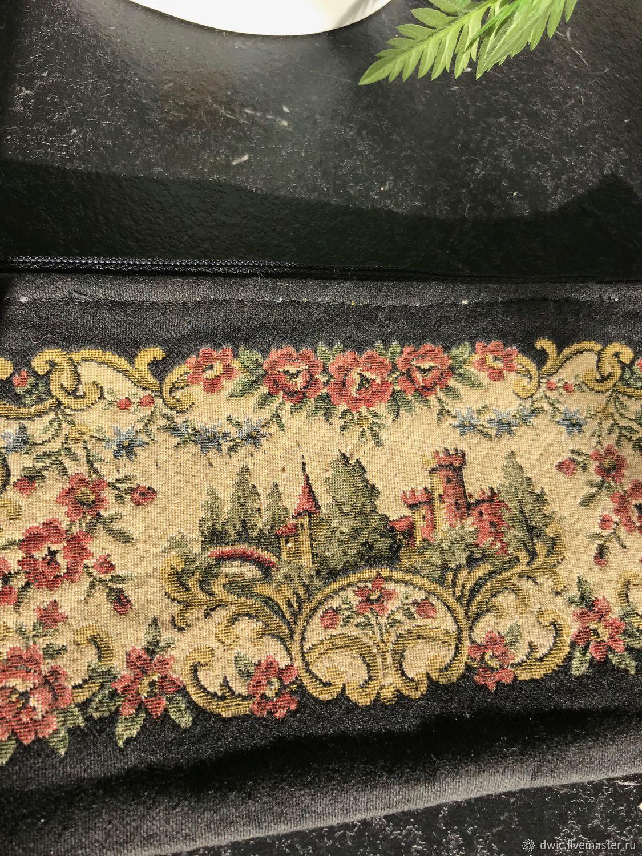 Tapestry cosmetic bag, Holland, Vintage bags, Arnhem,  Фото №1