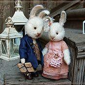 Куклы и игрушки handmade. Livemaster - original item Friends Teddy. The author`s work. Peter and Maggie.. Handmade.