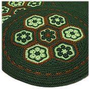 Для дома и интерьера handmade. Livemaster - original item Knitted seat (two-layer ). Handmade.