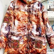 Одежда handmade. Livemaster - original item La chaqueta de un capullo de plaschevki