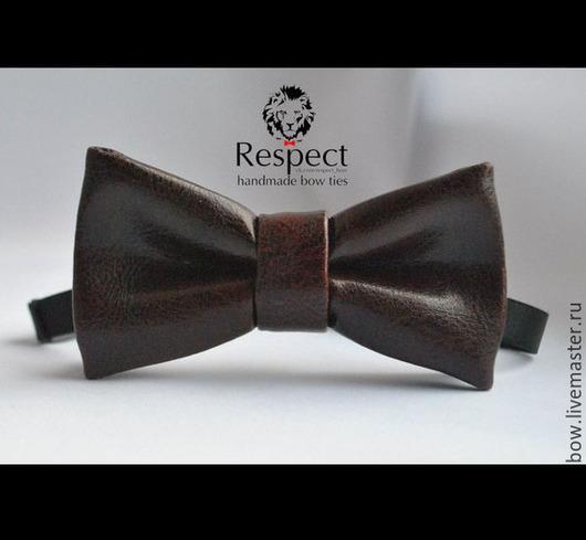 Галстуки, бабочки ручной работы. Ярмарка Мастеров - ручная работа. Купить Галстук бабочка Slipknot / темно-бордовая бабочка-галстук, кожаная. Handmade.