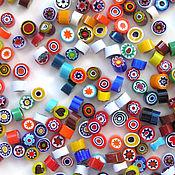 Материалы для творчества handmade. Livemaster - original item Millefiori glass 4-5 mm. Handmade.