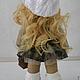 Человечки ручной работы. куколка с сумочкой. Pugovkadoll. Интернет-магазин Ярмарка Мастеров. Кукла, кукла интерьерная, кукла Тильда, человечки
