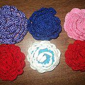 Цветы и флористика handmade. Livemaster - original item Rose crochet. Handmade.