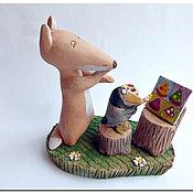 Куклы и игрушки handmade. Livemaster - original item Art criticism. Ceramics. Animal figurines. Handmade.