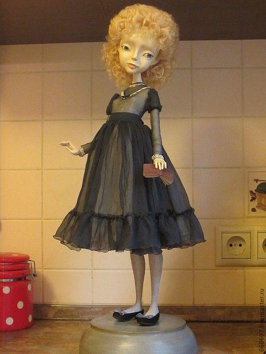 """Коллекционные куклы ручной работы. Ярмарка Мастеров - ручная работа. Купить Кукла """"Варенька"""". Handmade. Серый, кукла ручной работы"""