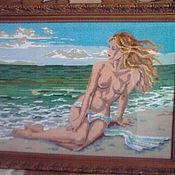 """Картины и панно ручной работы. Ярмарка Мастеров - ручная работа """"Мечты у моря"""". Handmade."""