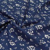 Ткани ручной работы. Ярмарка Мастеров - ручная работа ткань джинс тенсел стрейч синий. Handmade.