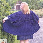 "Одежда handmade. Livemaster - original item Knitted Cardigan - poncho ""Beautiful cardigan"". Handmade."