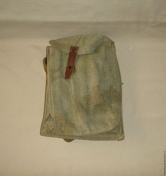 Винтажные сумки и кошельки. Ярмарка Мастеров - ручная работа. Купить Подсумок для магазинов РПК на ремне. Handmade. Оливковый, подсумок, калашников