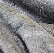 Ткани ручной работы. Ярмарка Мастеров - ручная работа Искусственный мех Волк. Handmade.