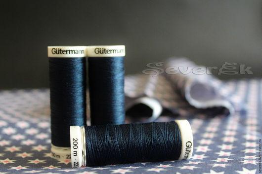 Шитье ручной работы. Ярмарка Мастеров - ручная работа. Купить GUTERMANN Sew-All Нитки Гутерманн  200 m для всех. Handmade.