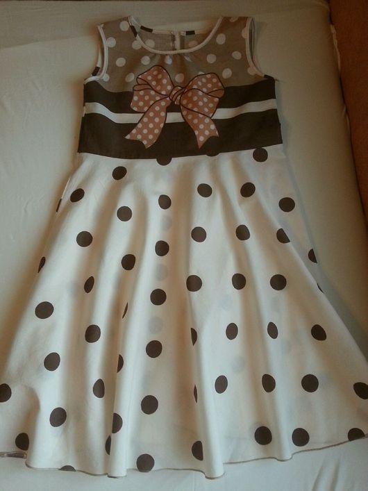Одежда для девочек, ручной работы. Ярмарка Мастеров - ручная работа. Купить Сарафан для девочек     15. Handmade. Платье нарядное