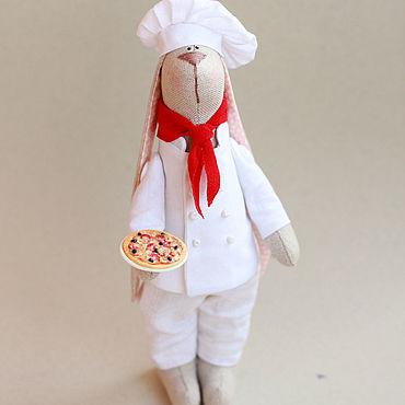 Куклы и игрушки ручной работы. Ярмарка Мастеров - ручная работа Тильды: Зай-Пиццайоло. Handmade.
