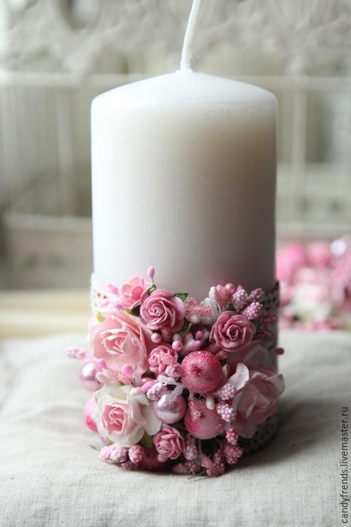 Домашний очаг свечи свадебные купить