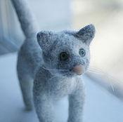 Куклы и игрушки ручной работы. Ярмарка Мастеров - ручная работа Зеленоглазый кот. Handmade.